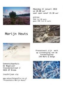 Lezing Marijn Heuts