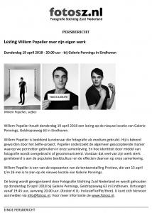Lezing Willem Popelier