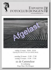 Afgelast: Expositie FC Dongen