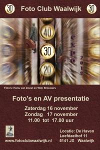 Expositie Fotoclub Waalwijk